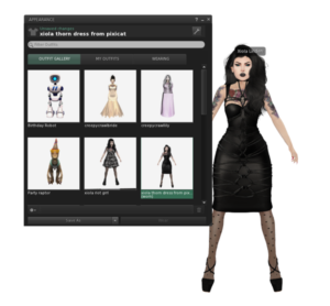 Visual Outfit Browser