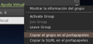 FS Opciones de Grupo en URL